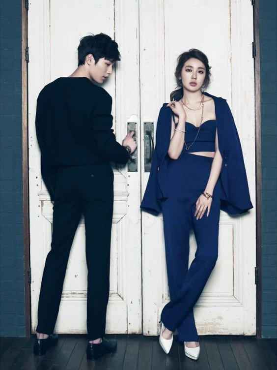 Yoon Eun Hye and Seo Kang Joon - High Cut Magazine
