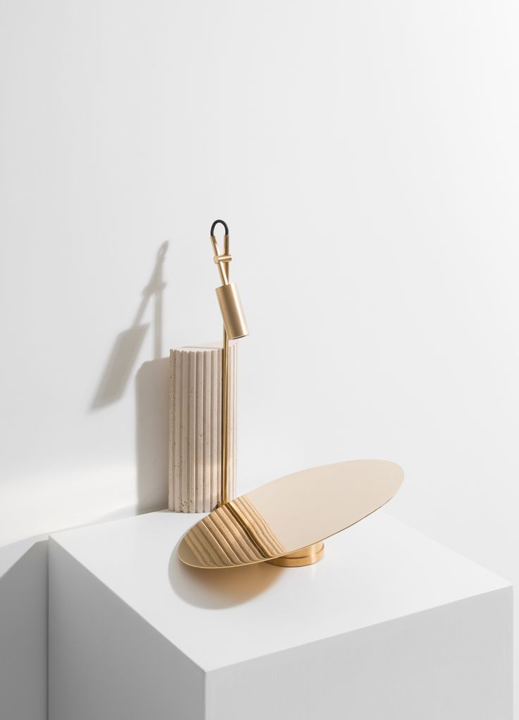 Reflector is a minimal table lamp created by Netherlands-based designers Formafantasma, part of their Delta collection.