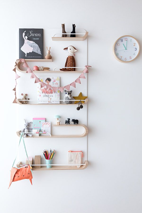 XL shelf in Girl Rooms – Hide And Sleep