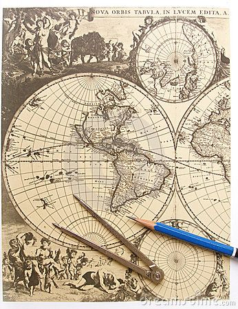 Best Classic Antique Pirate Vibes Images On Pinterest - Antiques us maps with compass