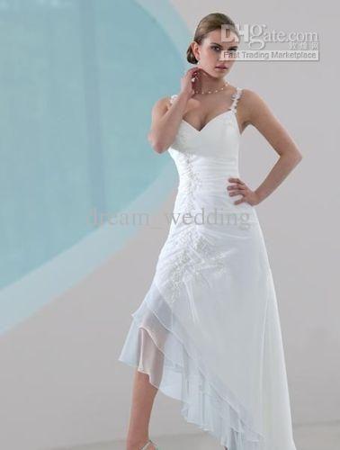 15 best Wedding Dresses images on Pinterest | Homecoming dresses ...