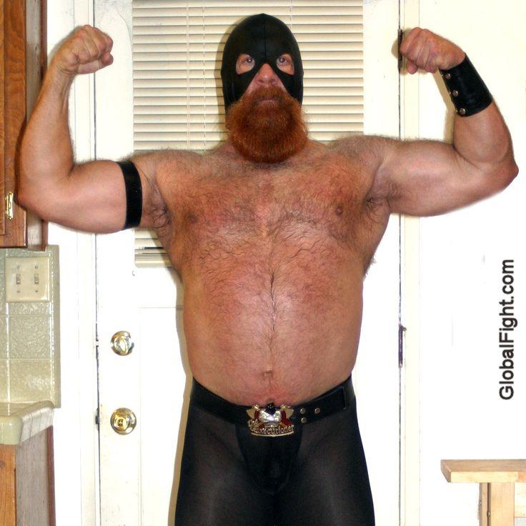 huge redhead ginger powerlifter hunkd