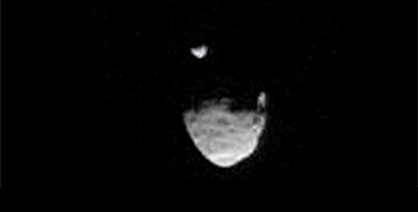 Curiosity captura duas luas de Marte em eclipse num impressionante video da NASA | Ciência Online - Saúde, Tecnologia, Ciência