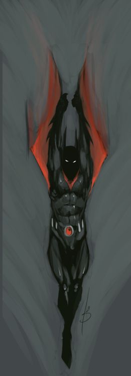Batman Beyond by Andrew Phillips. I love Batman Beyond, it's a personal favorite cartoon. :D