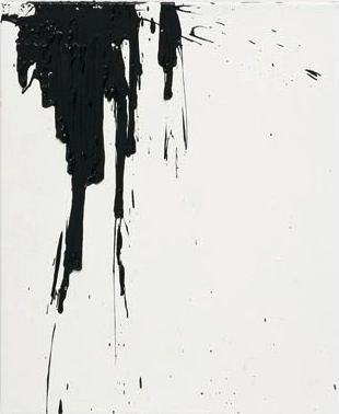 .: Black White, Clever Ideas, Spill Drop, Painting