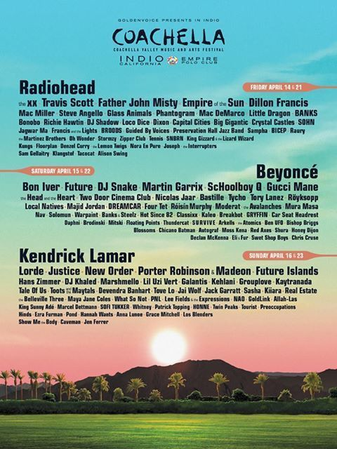 **SOLD OUT** Coachella Music Festival 2017 Ticket WEEKEND 2--GA W/SHUTTLE