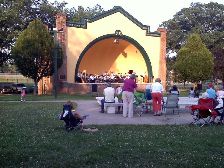 Another Great Performance At The Bandshell In Brandon Park Williamsport Pa