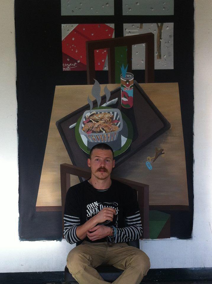 Минимализируя искусство. Беседа с ялтинским художником Никитой Кравцовым