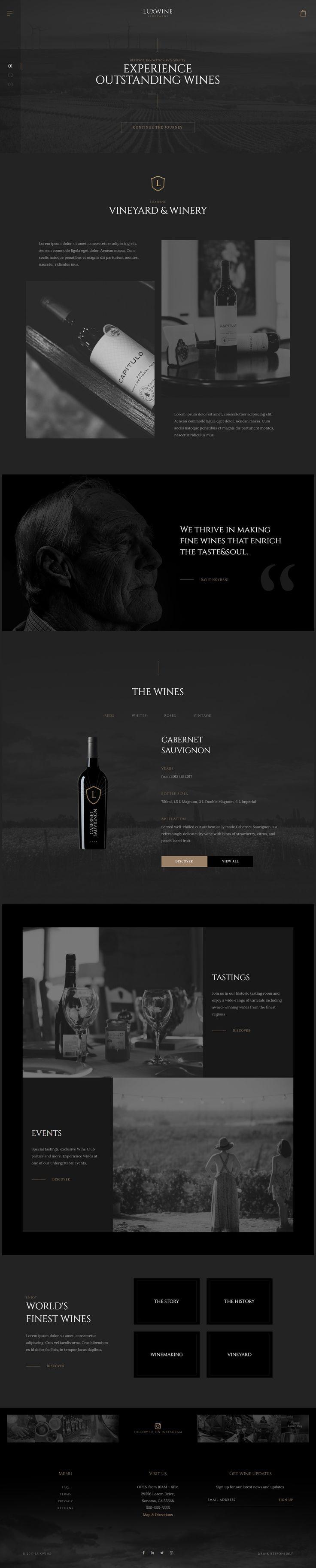 Premium wordpress wine store theme