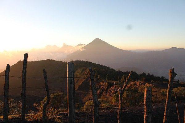Sleeping on Volcan Pacaya