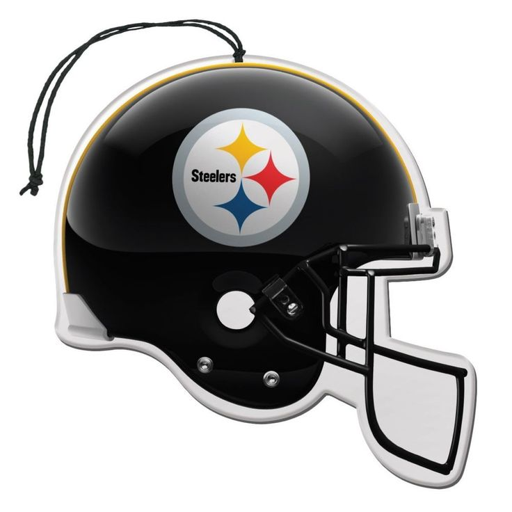 NFL Football Team Pittsburgh Steelers Logo Auto Air Freshener Helmet Shape 3 Cnt #TeamProMark #PittsburghSteelers
