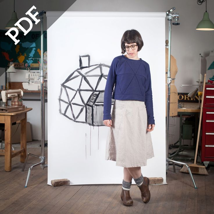 GEODESIC - PDF DIGITAL PATTERN by Blue Prints for Sewing