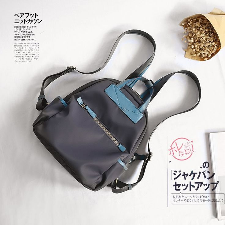 59.98$  Watch now - Classic School Bag For High School BackPack Women's Casual Daypacks Men Backpack Nylon Backpack Travel Backbag Korean School sac  #shopstyle