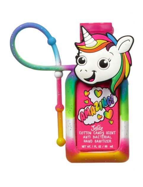 justice hand sanitizer case | COTTON CANDY UNICORN ANTI-BAC | GIRLS ANTI-BAC BEAUTY | SHOP JUSTICE