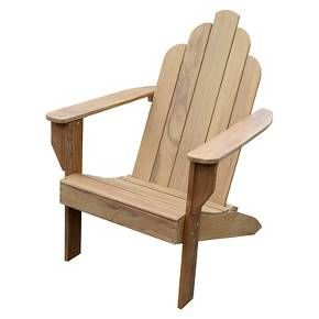 A traditional adirondack chair that is well constructed of 100% extremely durable teak wood. Generously proportioned with gentle curves on seat and back will provide added comfort. This durable teak chair performs beautifully in every climate without rotting nor the need for being stored or covered. Apply teak oil to maintain the natural golden brown color of teak, or allow wood to weather to a beautiful silvery patina