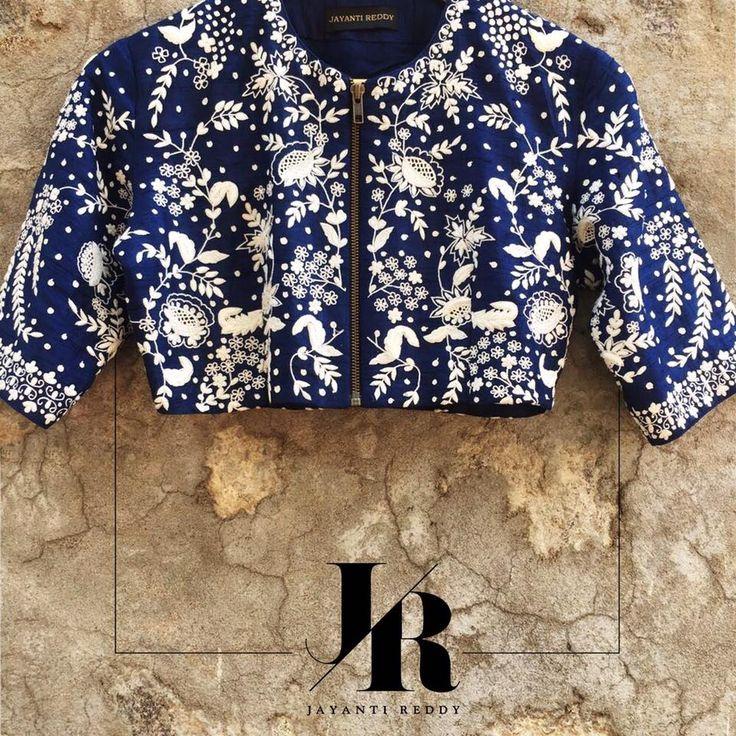 Add this gorgeous crop top to your summer wardrobe. Jayanti Reddy Jayanti Reddy Label. 23 March 2017