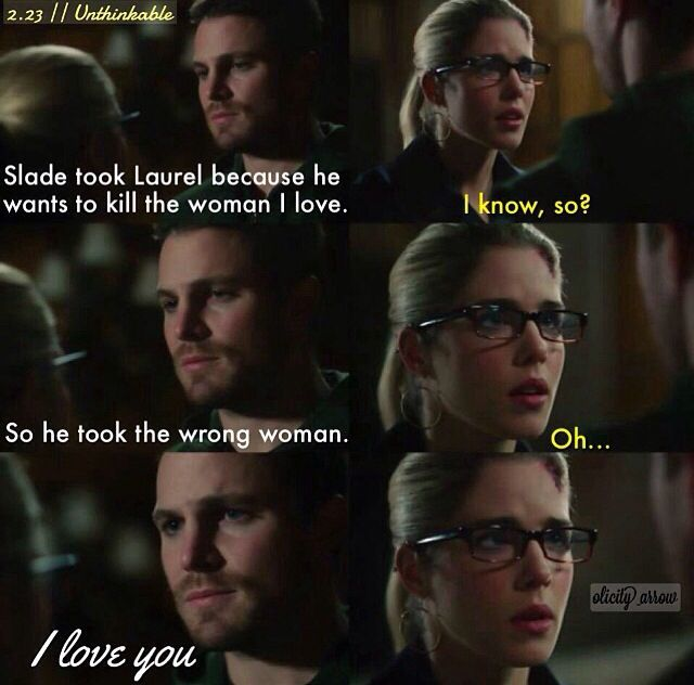 This scene just hurts my heart because I know he was just trying to pretend. Though, it was the truth!!