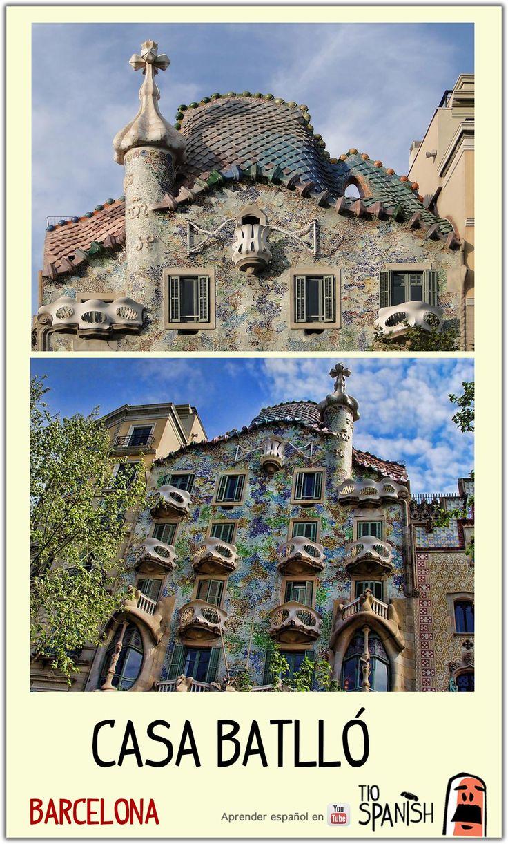 Mejores 22 im genes de qu ver en barcelona en pinterest aprender espa ol aula de espa ol y - Casa vives gaudi ...