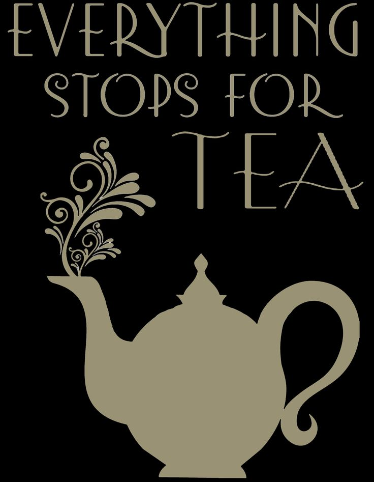 everything stops for tea - version 2 - the Mariage Frères version
