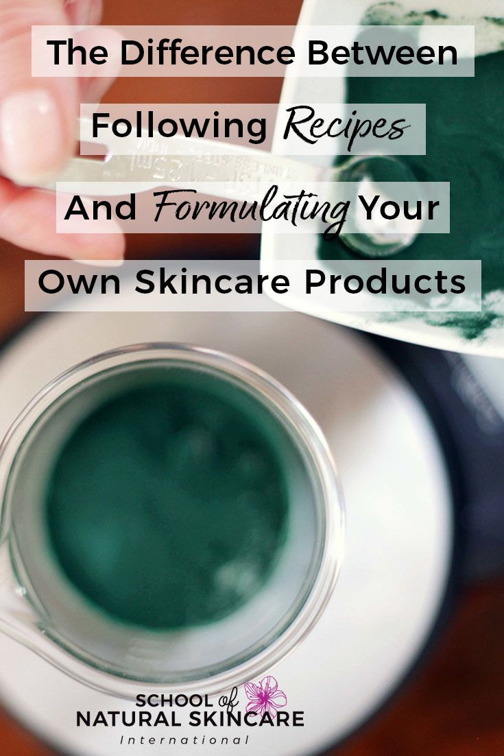 Using A Recipe Can Be A Great Way To Get Started In Creating Your Own Skincare Products You See A Fu Natural Skin Care Natural Skin Care Ingredients Skin Care