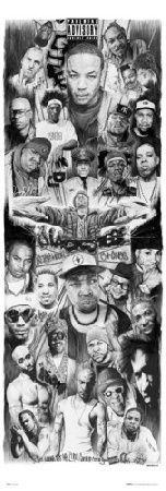 Rap Gods - plakat - 53x158 cm  Gdzie kupić? www.eplakaty.pl