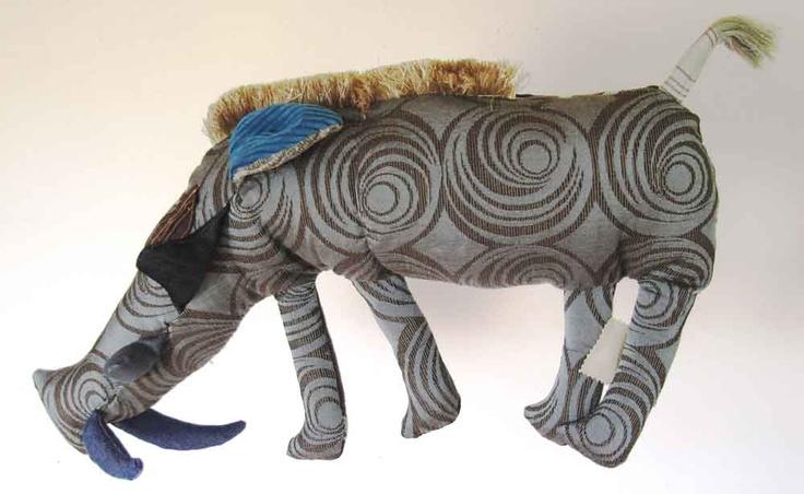 Warthog Cushion Handmade plush toy #plushtoy #handmade