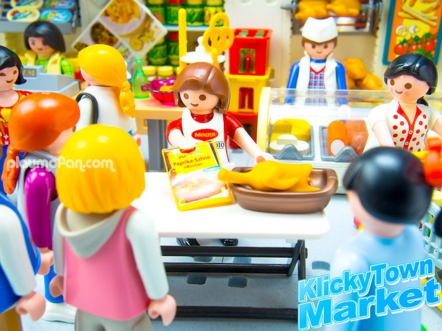 playmobil supermarkt met poppetjesaccessoires