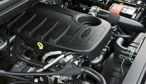 2015 Ford Ranger - engine