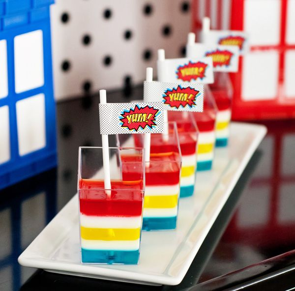 Budget Friendly Superhero Party | Hostess with the Mostess