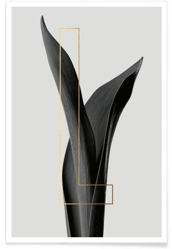 Plants L als Premium Poster von typealive | JUNIQE