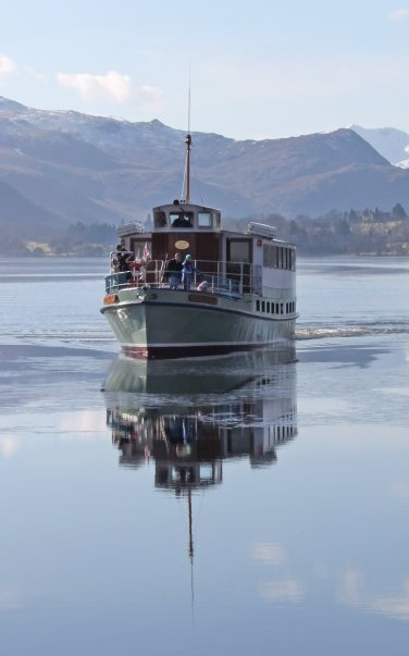 The Ullswater Steamer, Cumbria posted by www.futonsdirect.co.uk