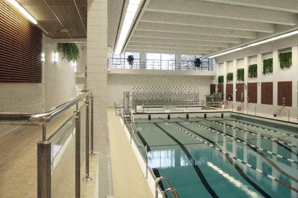 arkkitehtitoimisto siltanen ja laakso - Kallion uimahalli 2004