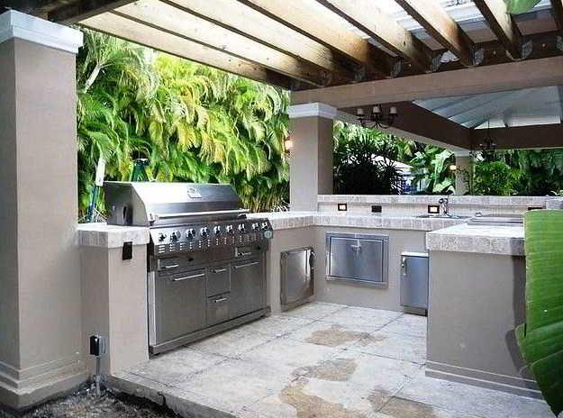 26 best Desain Dapur Terbuka & Semi Outdoor Menghadap ...