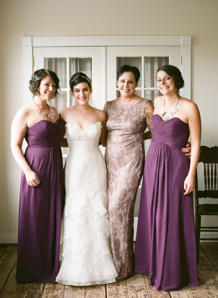 Beautiful Bridesmaids Dresses For Autumn | Photography Brklyn View Photography: