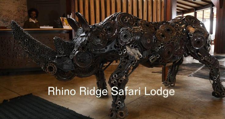 Rhino Ridge Safari Lodge in the Hluhluwe iMfolozi Park, KwaZulu Natal, South Africa.