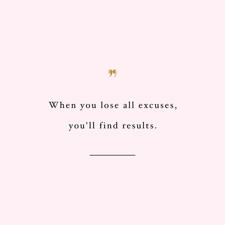 lose all excuses http://www.spotebi.com/workout-motivation/lose-all-excuses-weight-loss-inspiration-quote/
