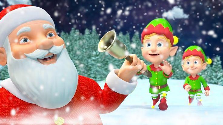 Jingle Bells Jingle Bells   Nursery Rhymes   Christmas Songs & Carols fo... (con imágenes)