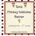 1000+ images about Sock Monkey 2nd Grade on Pinterest   Welcome banner ...