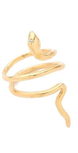 Jacquie Aiche Mini Snake Ring