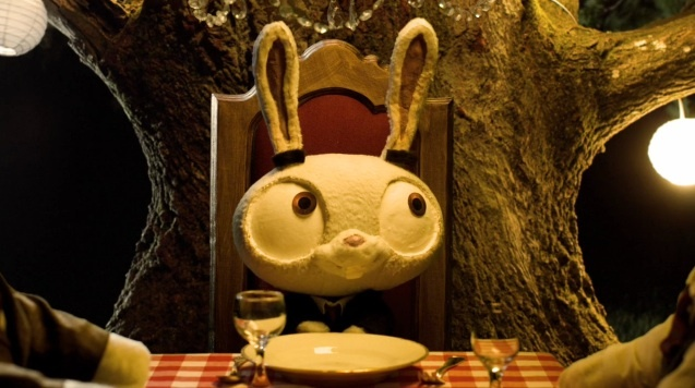 OUT OF A FOREST  - A tragic tale of rabbits. Macabre, somber, and fitting soundtrack  (which introduced me to The National). Amazing, especially for a student film.: Forests, Gundorff Boesen, Shorts Filmsvideo, Bunnies Parties, Students Film, Shorts Film Videos, Di Tobias, Danishes, Tobias Gundorff
