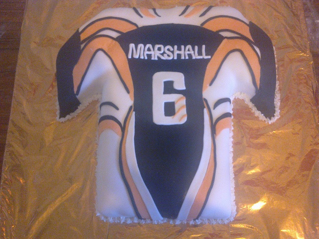benji marshall wests tigers jersey cake i did