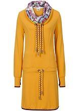 Mikinové šaty S velkým dvojitým límcem • 999.0 Kč • bonprix