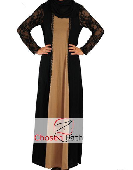 Lacy Formal Abaya Jilbab - perfect for Eid