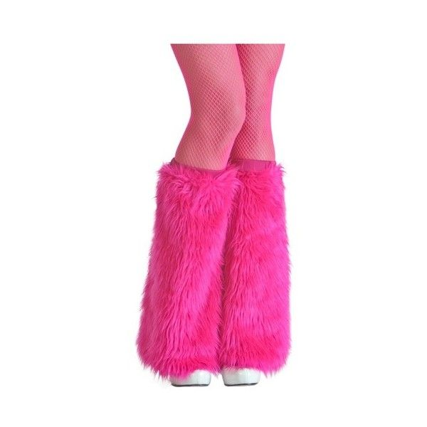 Adult Pink Furry Boot Covers ($3) ❤ liked on Polyvore featuring costumes, adult monster costume, pink costume, adult costume, sexy adult halloween costumes and sexy adult costumes