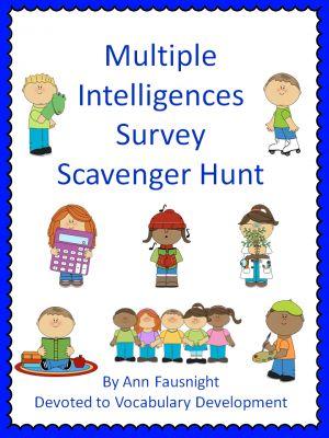 Multiple Intelligences Scavenger Hunt  
