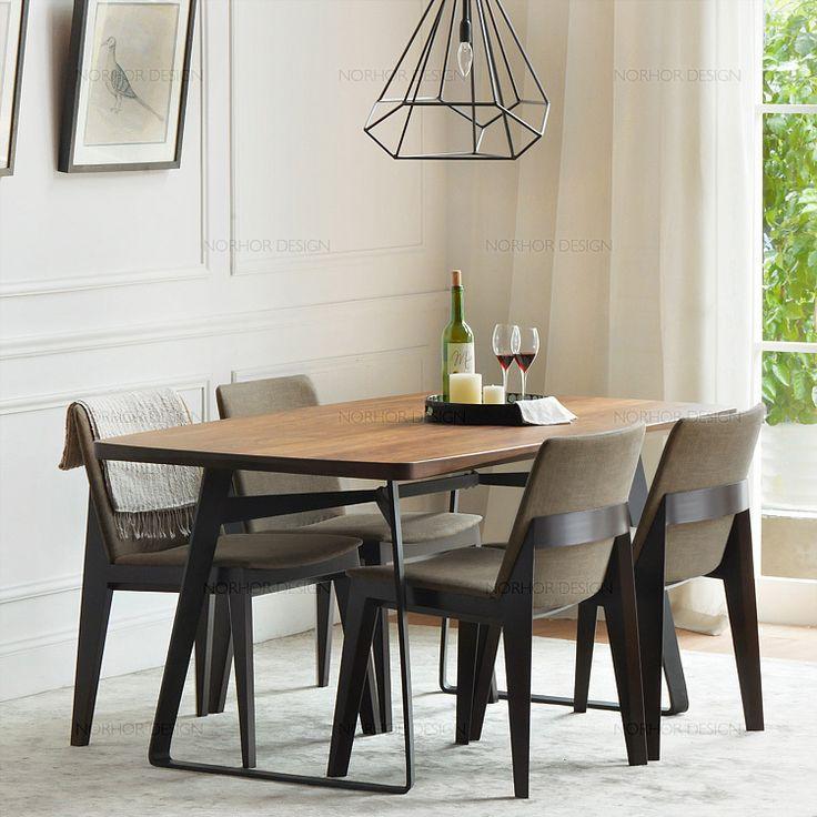 10% от благодарения / классика / Северная Америка черный орех мебель / выравнивает древесину т железа Западной таблица 2-в Деревянные столы из Мебель на Aliexpress.com | Alibaba Group
