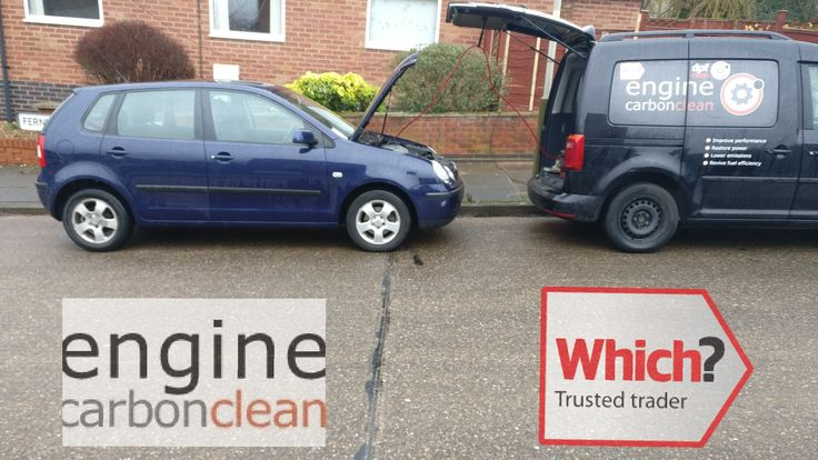 Today we've travelled north to Leicester to fulfill the commitment made by a colleague to do 4 vehicles for a customer before he was struck down with a nasty illness.  This 1.4 TDi 3 cylinder VW Polo with 127,000 miles is the 2nd to benefit from a Which? Trusted Traders approved Engine Carbon Clean. It has intermittent EGR  valve problems which we are targetting today.  #WhichTOTM #whichtrustedtraders #followthecog #team #VW #Polo #teamwork #enginecarbonclean #carbonclean #number1