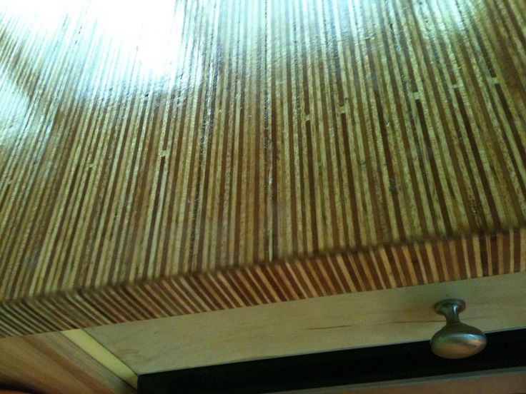 Gluing Vertical Strips Of Plywood For An Amazing