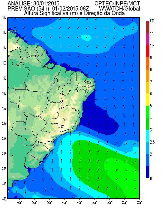 Previsão Oceânica - CPTEC/INPE