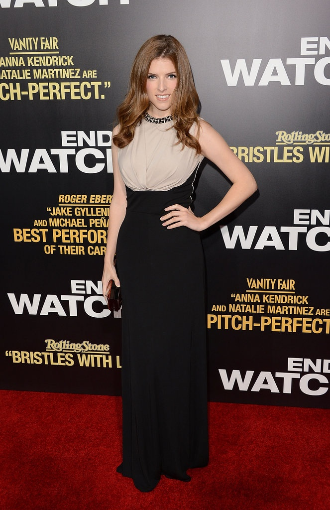 Anna Kendrick at the End of Watch LA Premiere